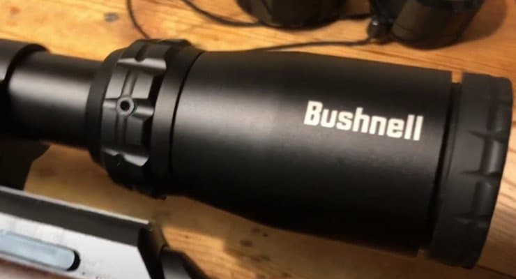 Bushnell Banner 4-12x40 Magnification dial