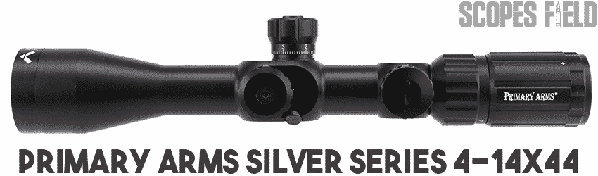 Primary Arms Silver Series 4-14x44 FFP Rifle Scope