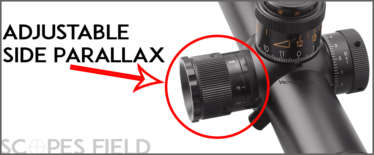Adjustable side parallax