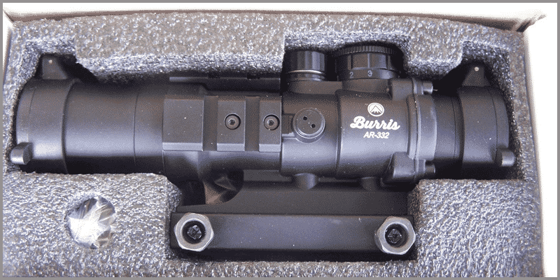 Burris AR-332 3x 32mm Prism Sight Ballistic
