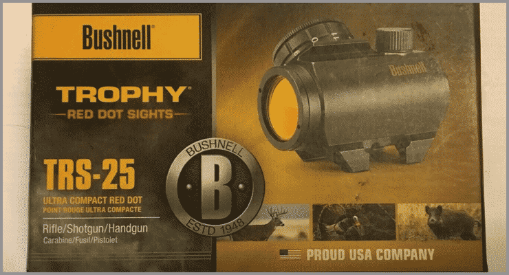 Bushnell Trophy TRS-25 Box