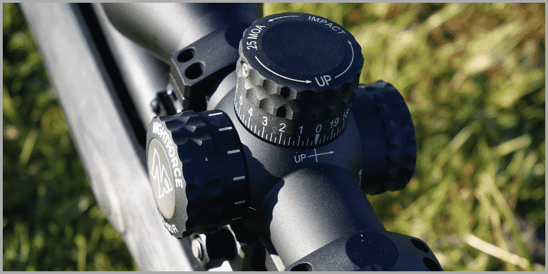 Nightforce NXS Riflescope Turrets