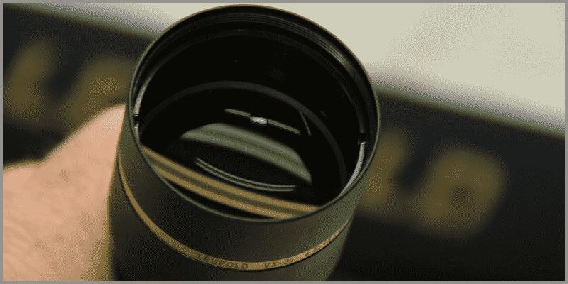 Leupold VX-3i objective lens