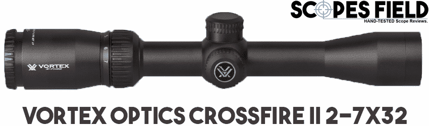 Vortex Optics Crossfire II 2-7x32 Best Close-to-Mid Range Scope