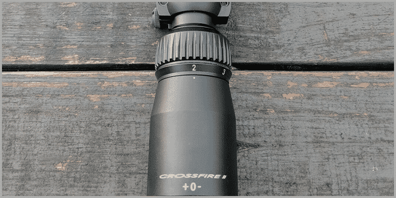 Vortex Optics Crossfire II 2-7x32 Magnification Ring