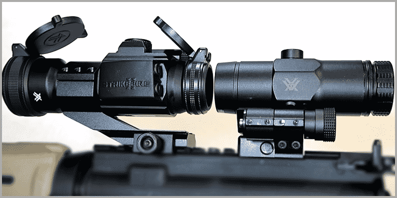 Vortex Strikefire II with Vortex VMX-3T Magnifier