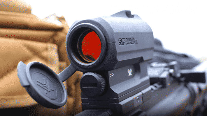 Sparc AR red dot lens coating