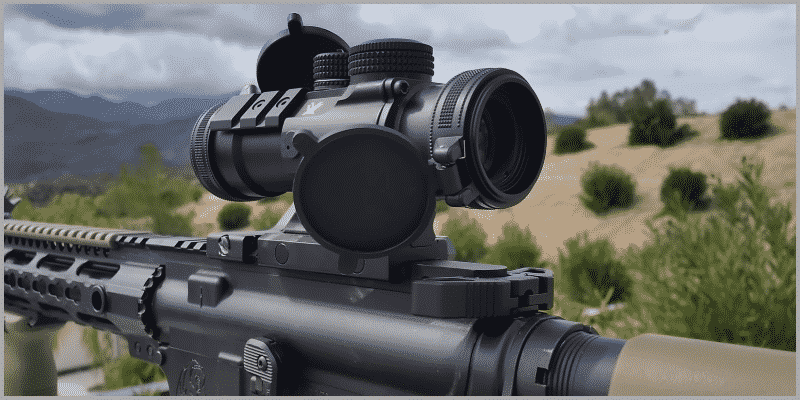 Vortex Spitfire 3x Prism Scope Eye Relief