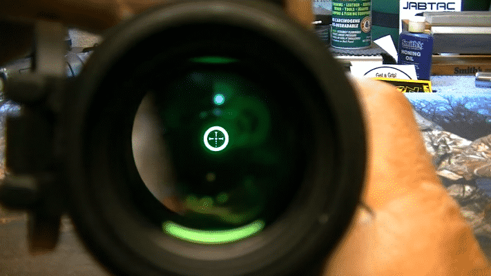 Burris AR-536 Reticle Green