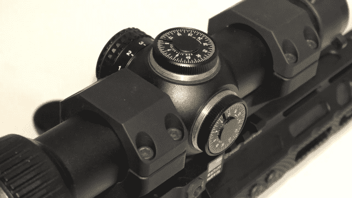 Vortex Optics Strike Eagle 1-8×24 Knobs