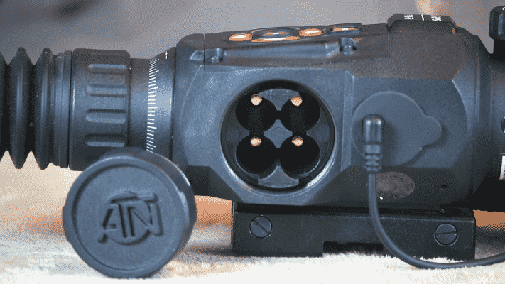 ATN X-SIGHT II HD 5-20 Battery Compartment