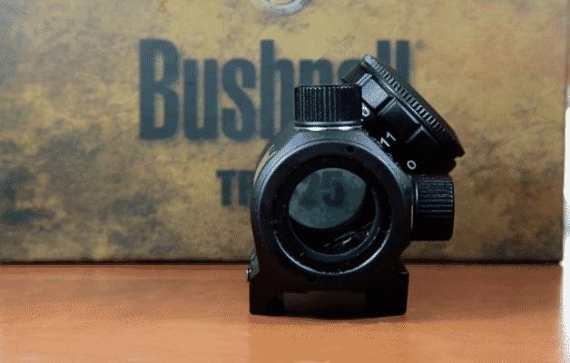 Bushnell TRS 25 brightness knob