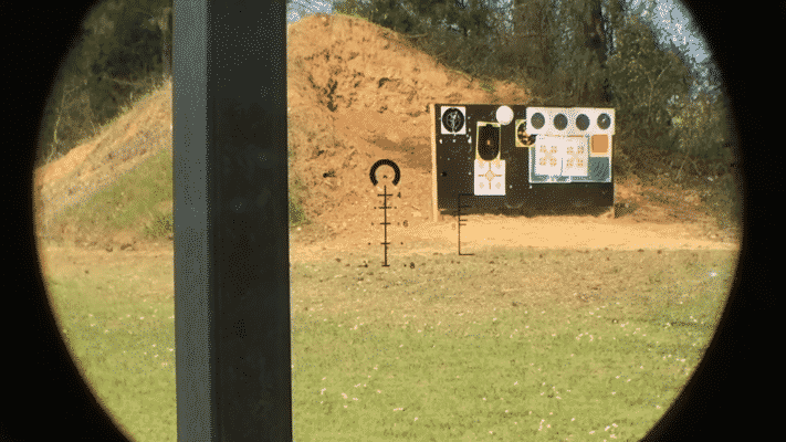 Primary Arms 1-6 second focal pane retilcle
