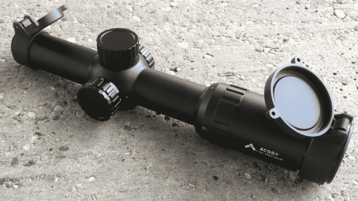 Primary Arms 1-6 with lens cover