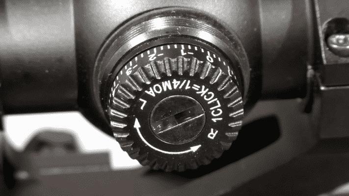 Vortex Crossfire II 4-12×50 1-4 MOA Knob