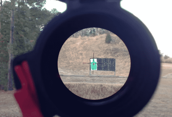 Burris Fullfield E1 reticle