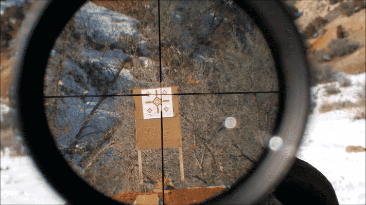 Leupold VX1 reticle