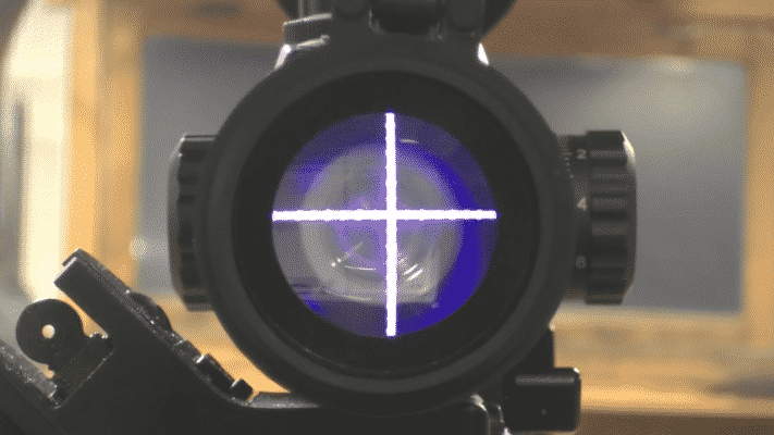UTG 3-12X44 30MM Reticle Blue