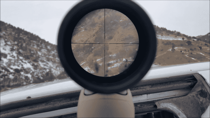 Vortex diamondback reticle