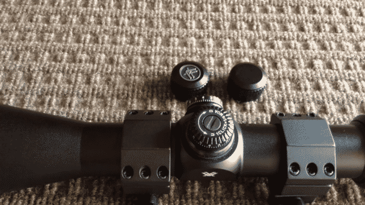 Vortex Crossfire II 2-7x32 Knob Covers