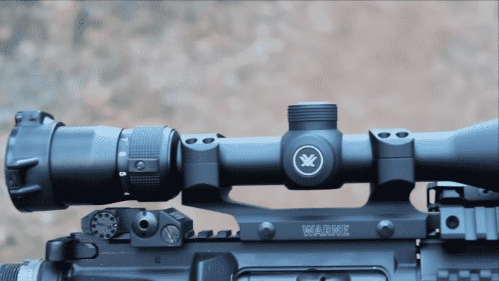 Vortex Optics Diamondback zoom dial