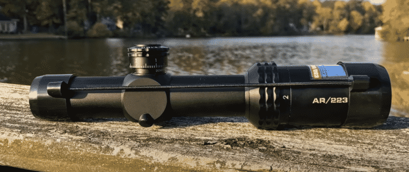 Bushnell Drop Zone covered scope