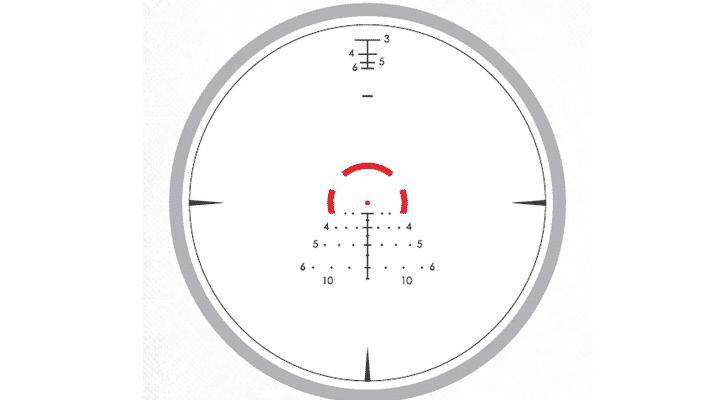 Vortex Strike Eagle reticle