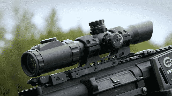 UTG 1-8X28 scope (2)