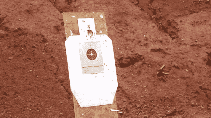 Target practice with AR-15