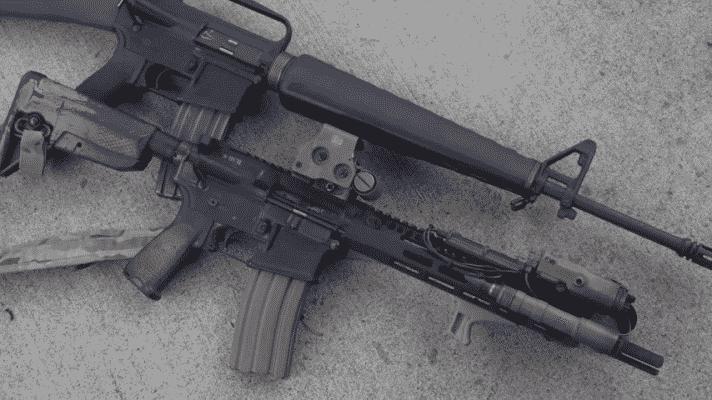 Vietnam M16A1 vs Modern AR-15 garand thumb