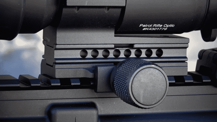 Aimpoint PRO Red Dot Reflex Sight knobs