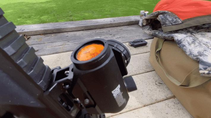 BUSHNELL TROPHY TRS-25 lens