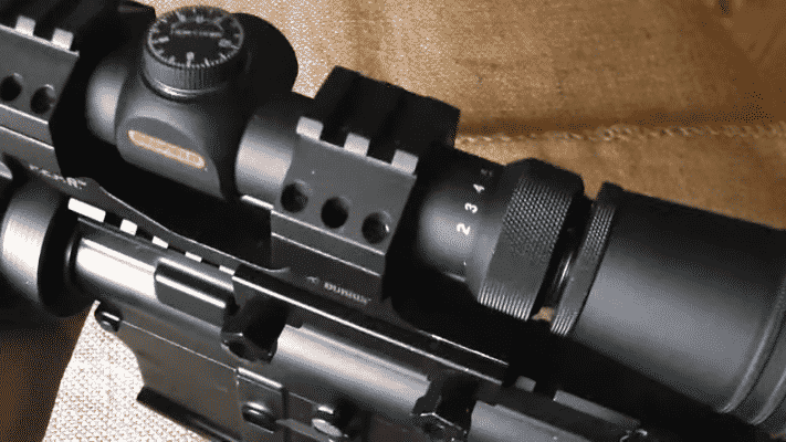 REDFIELD REVOLUTION 2-7X33 knobs (2)