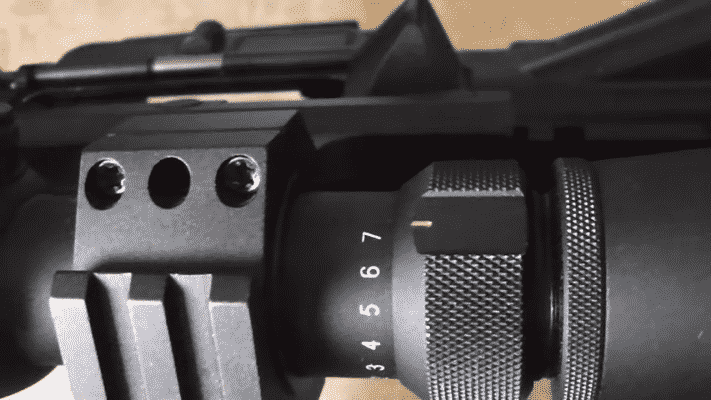 REDFIELD REVOLUTION 2-7X33 knobs