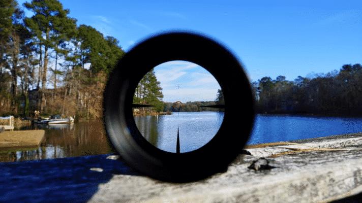 VORTEX OPTICS STRIKE EAGLE 1-8X24 lens